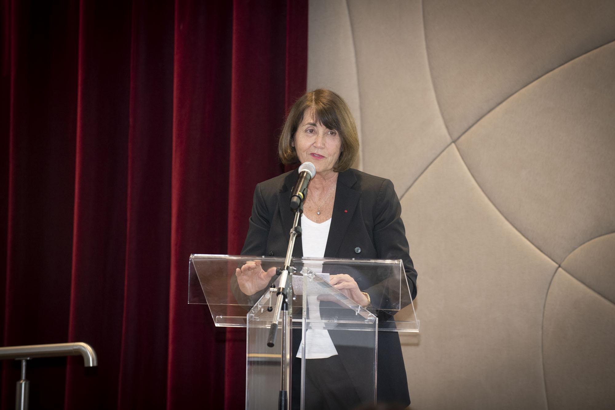 20 ans de l'OPE au siege de l'Oreal a Levallois-Perret. Christine Albanel Le 22/01/2019